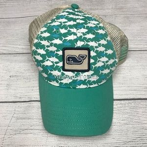 Vineyard Vines Mesh Back Baseball Hat Cap